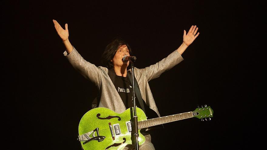 Sharleen Spiteri, vocalista y líder de Texas, durante su concierto en Santander. | EL REY LAGARTÓN