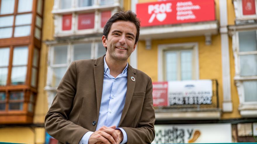 El dirigente socialista Pedro Casares.