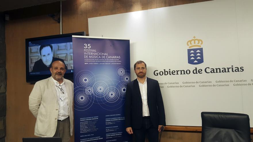 El director del Festival de Música de Canarias ofrecerá una charla sobre la 35 edición