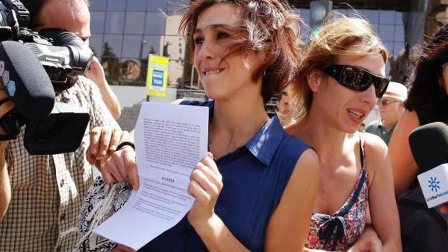 Juana Rivas a la salida del juzgado | EP