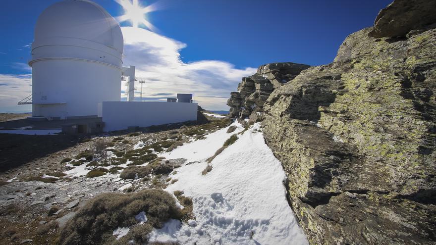 Subiendo al observatorio de Cala Alto (Almería) /Juan Sánchez