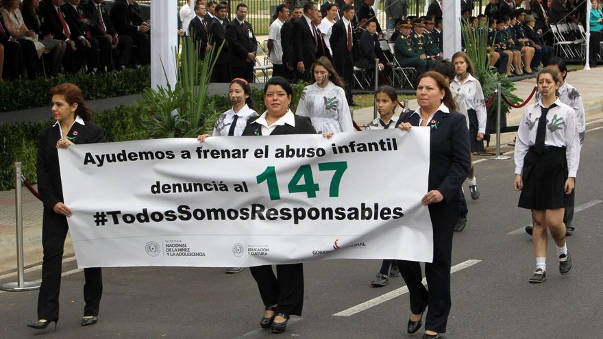 Paraguay tuvo siete denuncias diarias por abuso de menores en el primer cuatrimestre