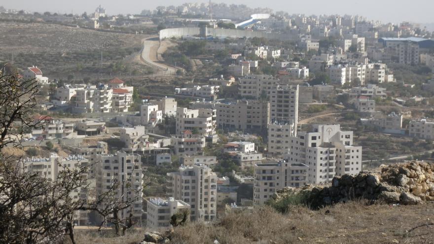 Valle de Cremisán, en Beit Jala, (distrito de Belén), que será dividio cuando se construya la extensión del muro | Ana Garralda