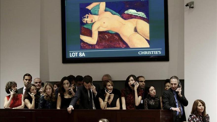 Un antiguo taxista compró desde China el Modigliani del récord en Christie's