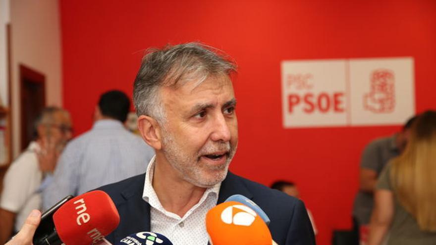 Ángel Víctor Torres, secretario general del PSOE en Canarias