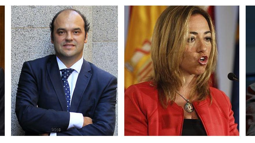 Ángel Gabilondo, José Carlos Díaz, Carme Chacón y Eduardo Madina