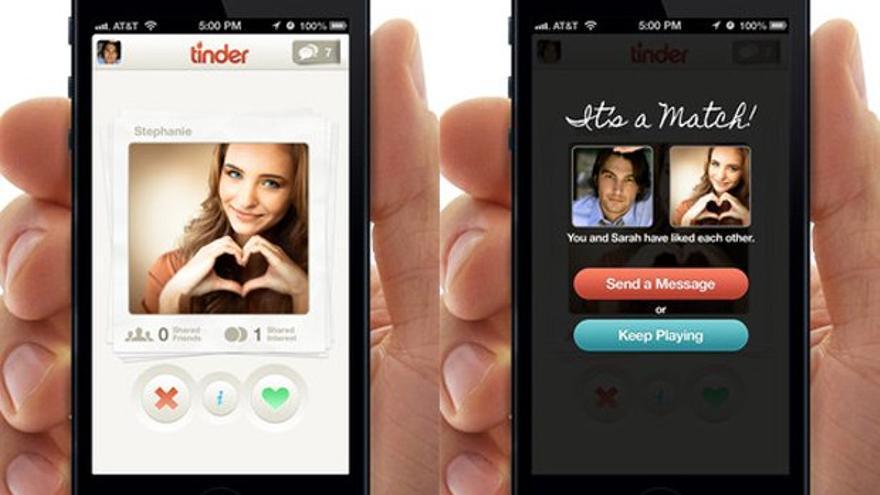 Tinder, dice, ya ha hecho mil millones de 'matches' y cincuenta propuestas de matrimonio (Foto: Tinder)
