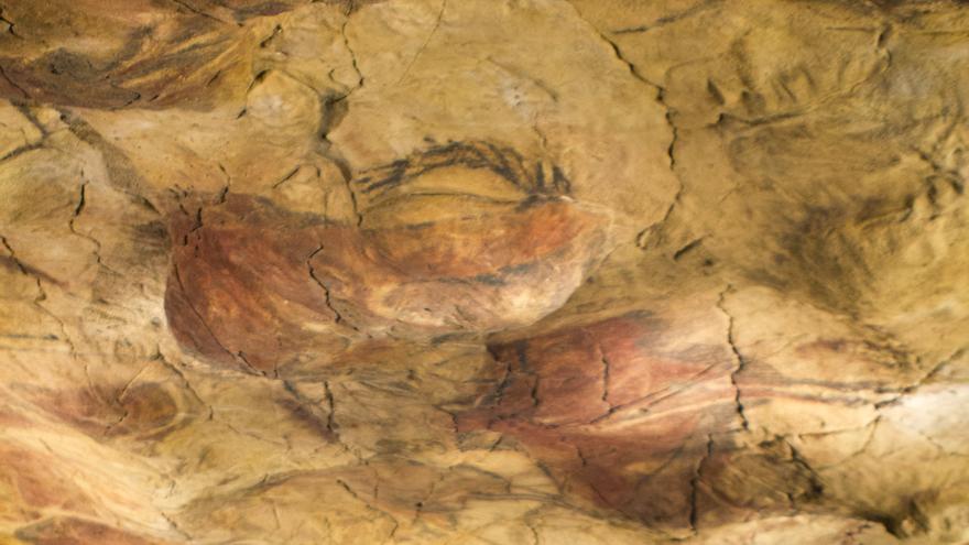 Reproducción de la Cueva de Altamira en el Museo Arqueológico Nacional. Viajar Ahora