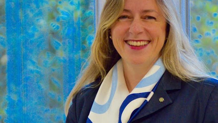 La presidenta de la Agencia Vasca de la Competencia, Pilar Canedo.