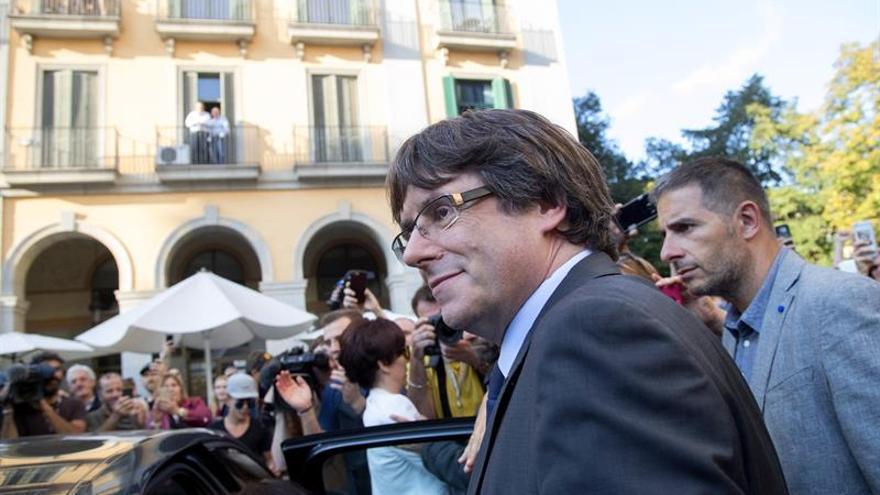 Carles Puigdemont se encuentra en Bruselas
