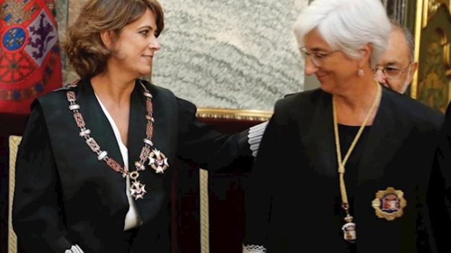 Delgado y Segarra en la apertura del Año Judicial