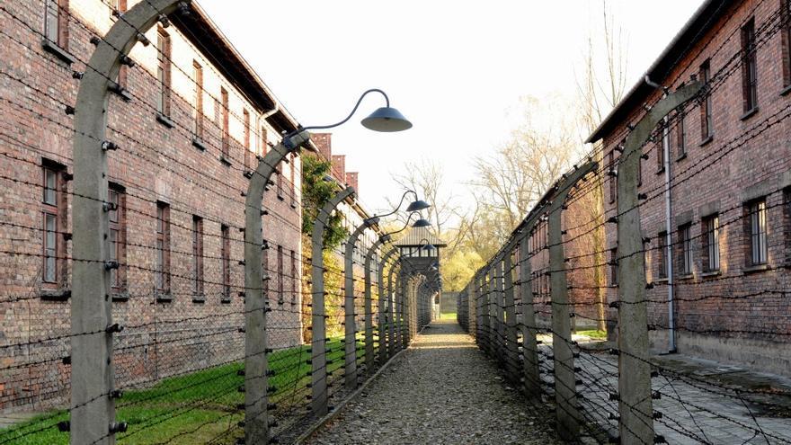 Campo de concentración de Auschwitz.   MARIANO CALVO HAYA