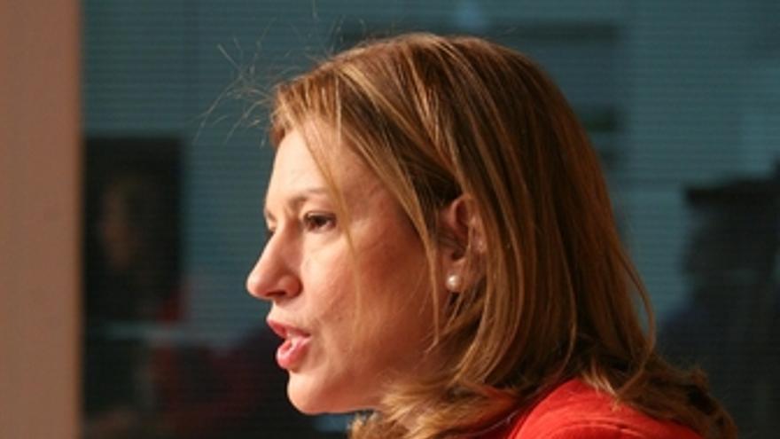 La portavoz del Consell y directora de Campaña del PPCV, Paula Sánchez de León.