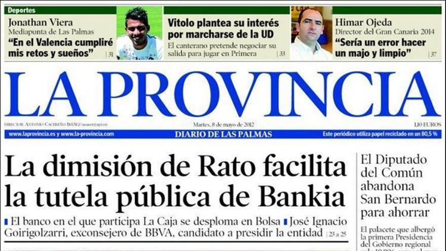De las portadas del día (08/05/2012) #1