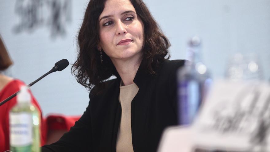 La presidenta de la Comunidad de Madrid y candidata a la reelección, Isabel Díaz Ayuso.