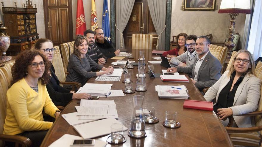 Reunión gobierno castilla-la mancha y Navarra