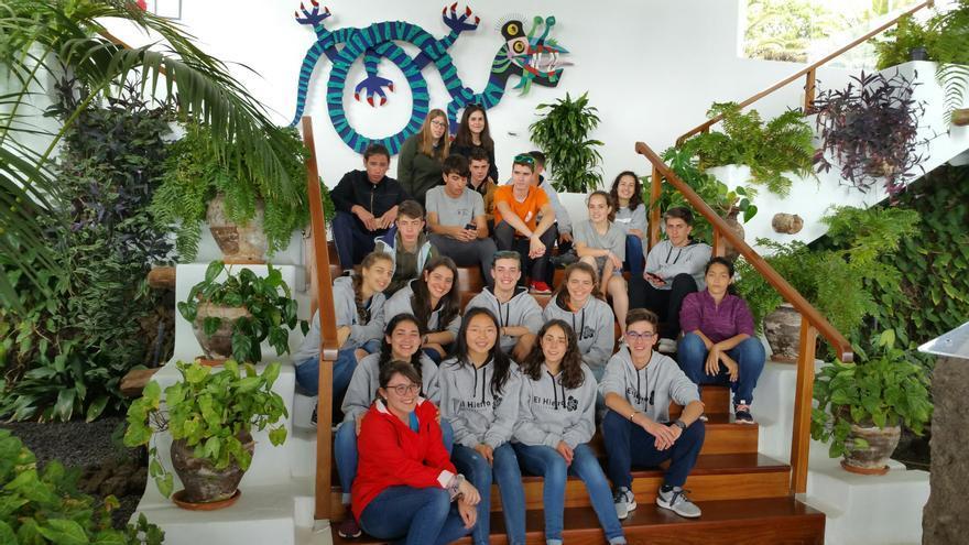 Jóvenes embajadores Geoparque El Hierro