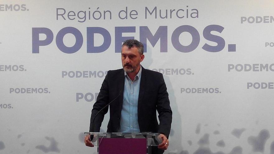 """Podemos lamenta que el PP permita que Pedro Antonio Sánchez """"siga viviendo a costa de los murcianos"""""""