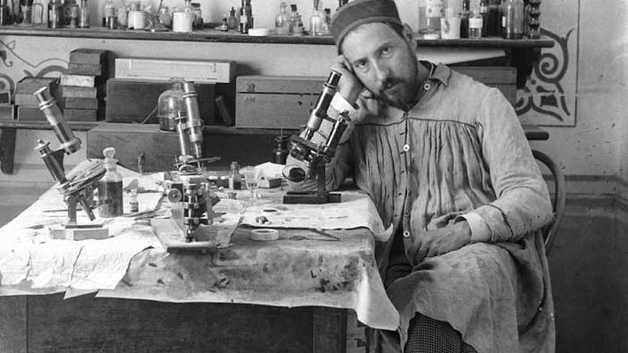 Autorretrato de Santiago Ramón y Cajal