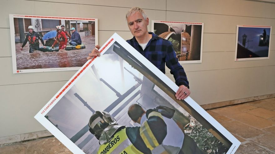 El centro 'El Espolón' de Comillas acoge desde mañana la muestra fotográfica de los 20 años del 112