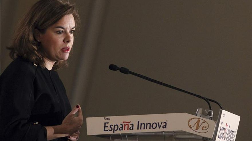 La vicepresidenta dice que España necesita un gobierno experto y reformismo