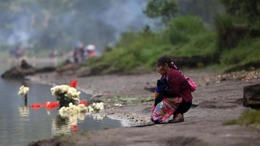 Rogativa de la lluvia, culto de indígenas para bendecir cosechas en Guatemala
