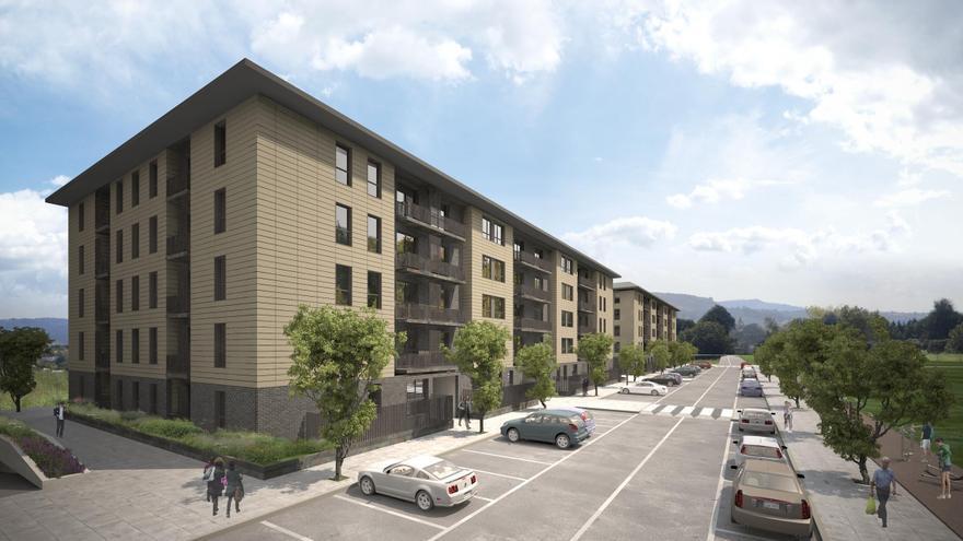 Los visados para construir nuevos pisos se desploman un 41,2% hasta julio