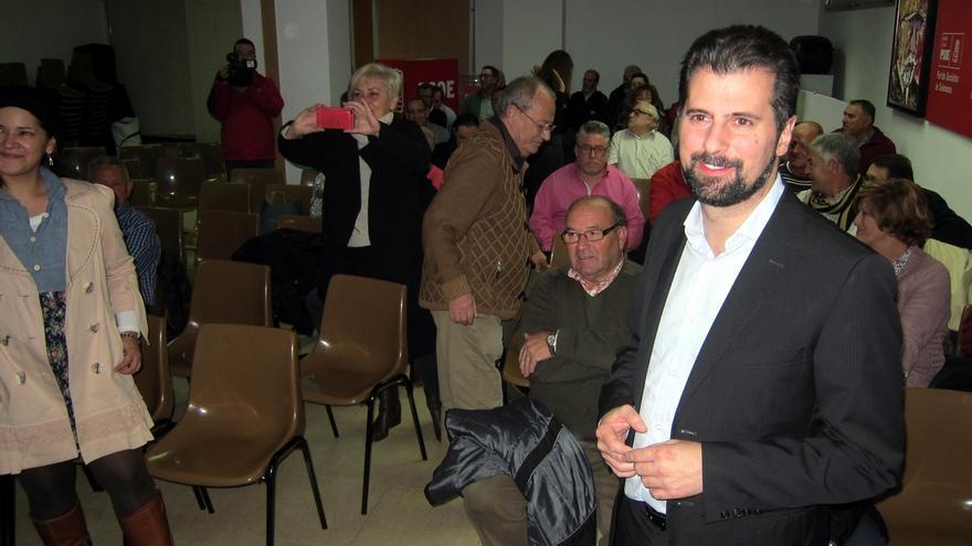 """Tudanca insiste en la """"necesidad imperiosa"""" de que las primarias y el congreso del PSOE se celebren """"cuanto antes"""""""