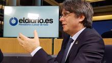 """Carles Puigdemont: """"Nuestra posición contra la investidura de Sánchez es la más fiel a lo que la gente votó"""""""