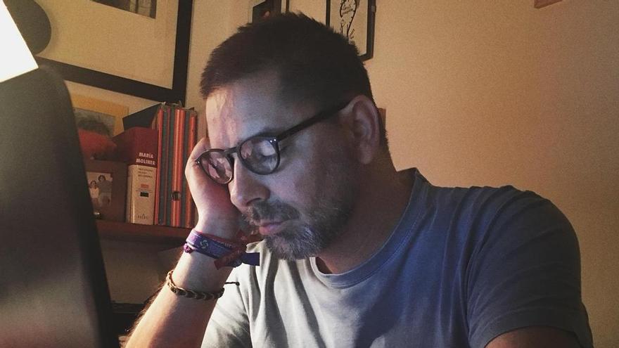 """""""Cansancio permanente, cansancio como estado, cansancio como justificación y como excusa, cansancio como palabra ante la que todos ceden"""" /Foto: Valentín García"""