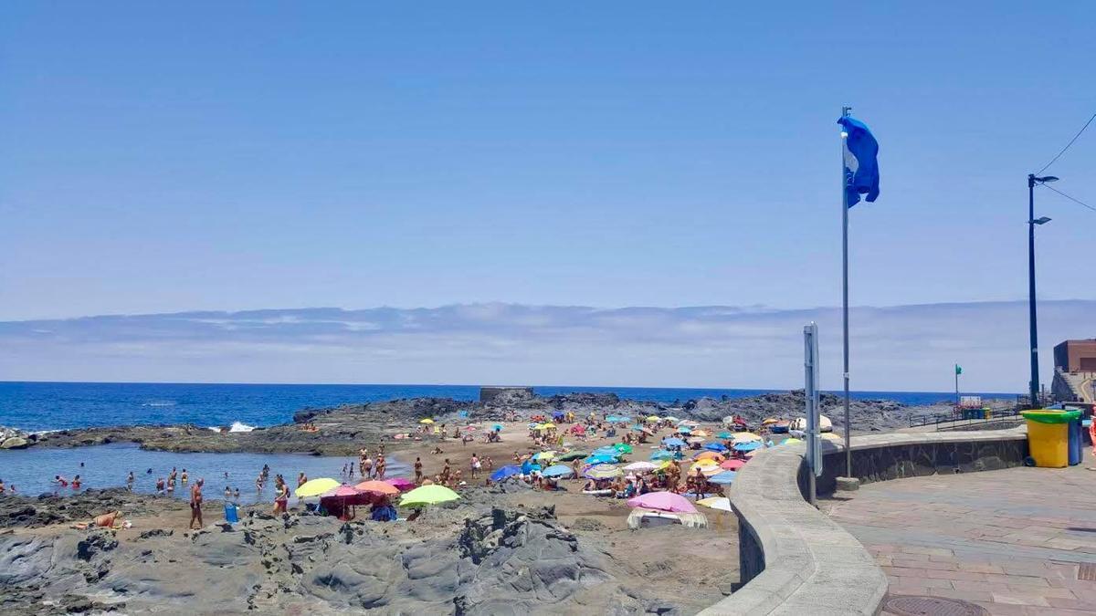 Playa del Puertillo, en Arucas