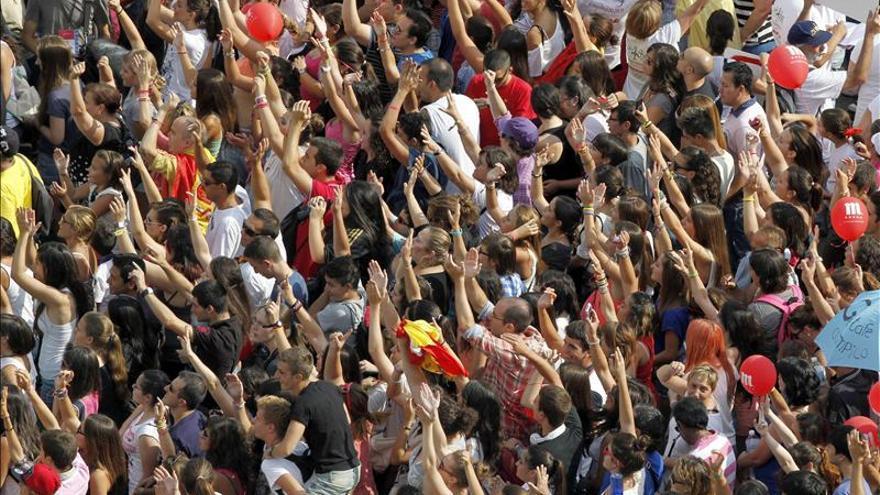 Miles de madrileños esperaron la noticia en Madrid antes de sufrir la decepción.