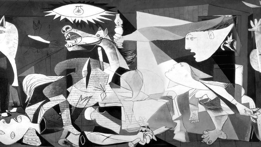 El Guernica, Pablo Ruíz Picasso (1937)