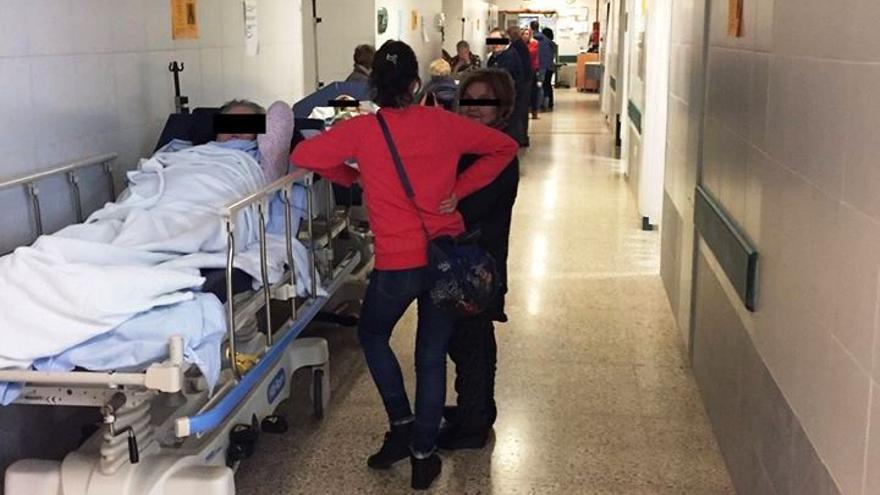 Colapso en las Urgencias del Clínico de Santiago el pasado 2 de enero