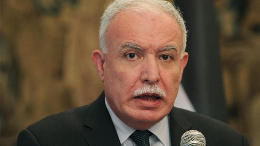 El canciller palestino se entrevistará mañana con su homóloga colombiana