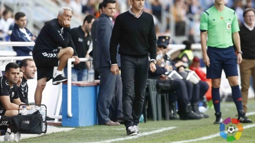 El entrenador del CD Tenerife, Pep Martí.
