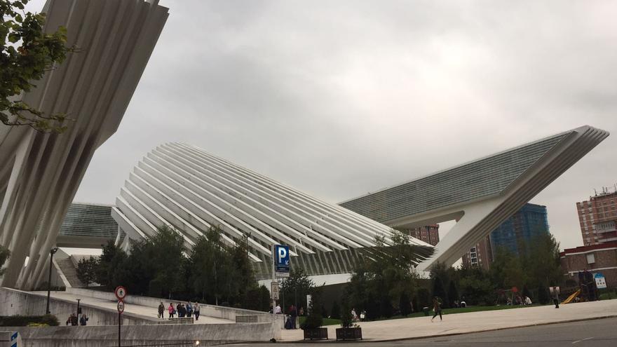 Obra de Calatrava en Oviedo