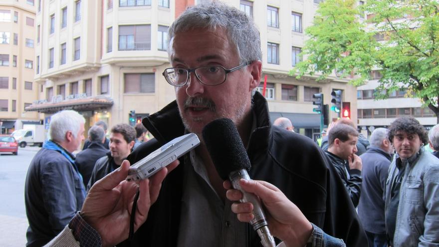 """Muñoz (ELA) dice que """"privatizar Kutxabank es la decisión más grave que se ha tomado en la CAV desde 1978"""""""