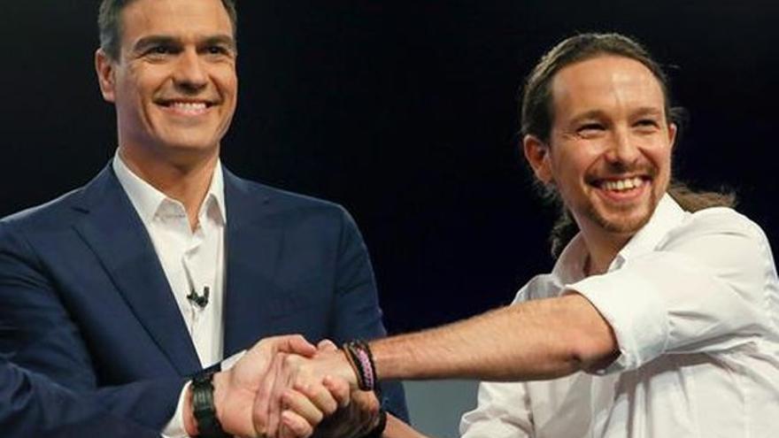 Un Gobierno de PSOE y Unidos Podemos es la opción preferida de los vascos.