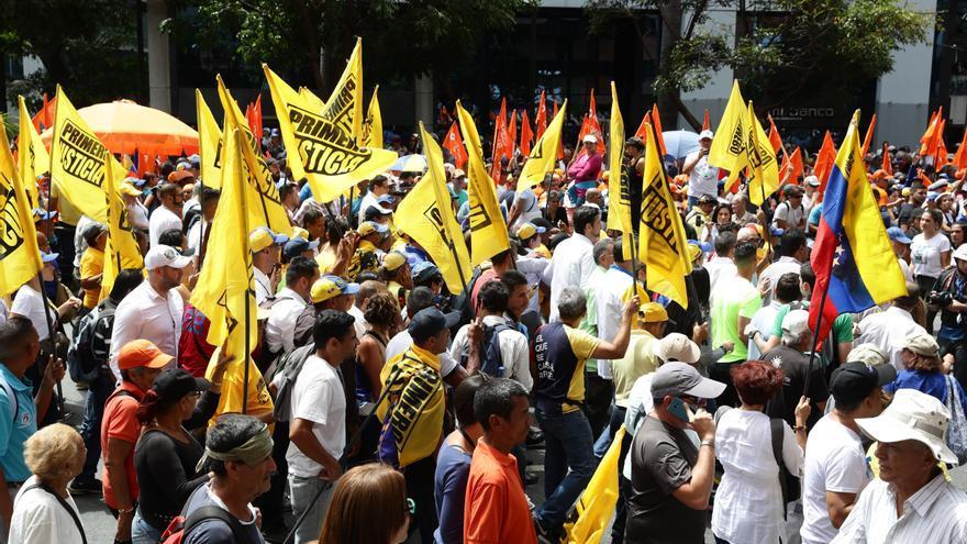 """Opositores venezolanos denuncian el """"aumento de la represión"""" contra los manifestantes"""