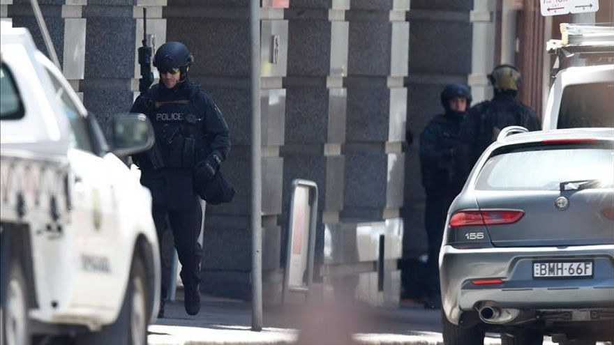 La Policía cierra parte del centro de Sídney por la toma de rehenes