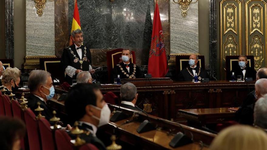 """El presidente del Poder Judicial justifica nombrar jueces pese a estar en funciones: """"Lo contrario incumpliría la Constitución"""""""