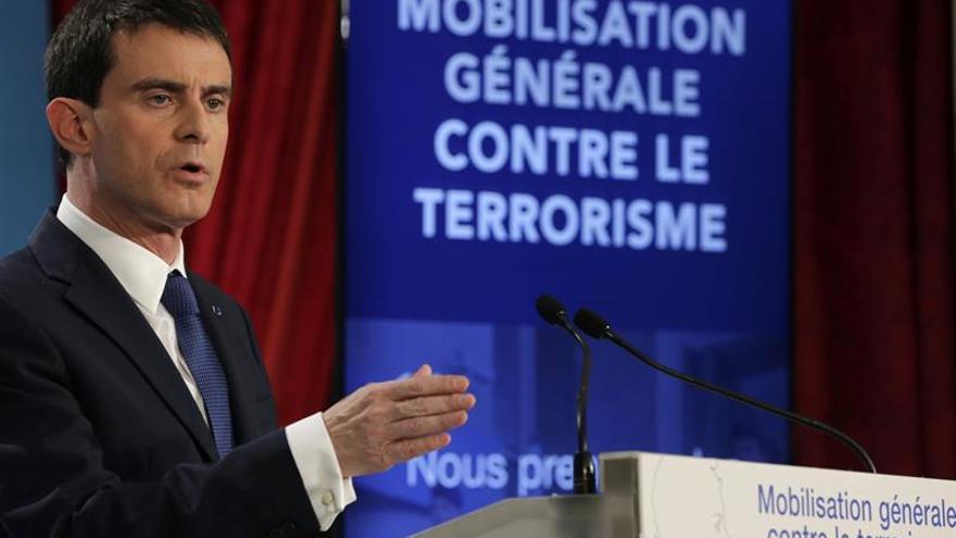 Francia mantendrá el estado de emergencia durante las elecciones de 2017