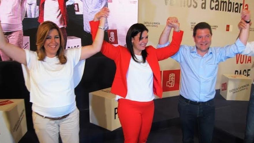 """Díaz avisa en C-LM de que sólo hay dos opciones y de que """"los nuevos"""" después votan con el PP"""