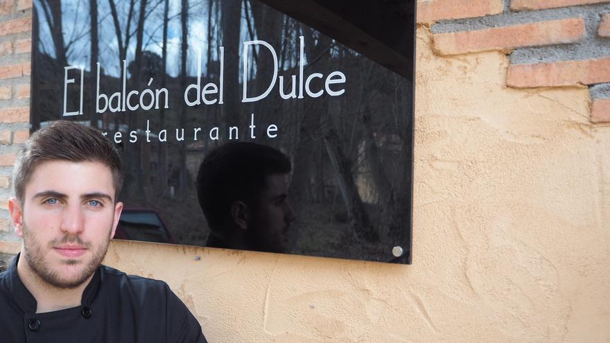Pablo de Francisco regenta el restaurante El balcón del Dulce, en La Cabrera FOTO: Pablo de Francisco