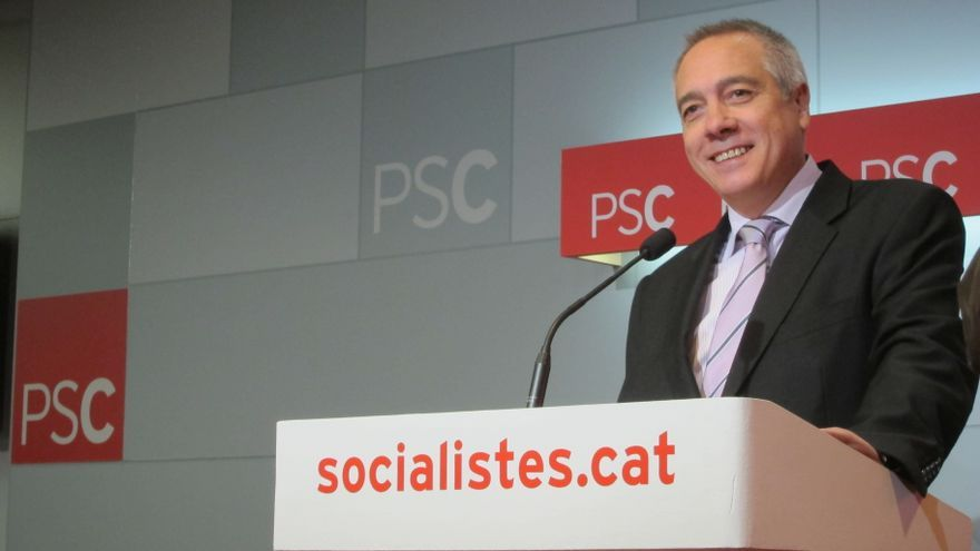 """Pere Navarro niega riesgo de """"ruptura"""" en el PSC y sancionará a los díscolos económicamente"""