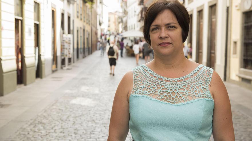 Mayte Rodríguez, concejal del PP en el Ayuntamiento de Breña Alta.