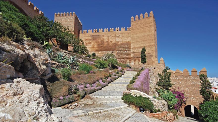 La alcazaba de Almería.