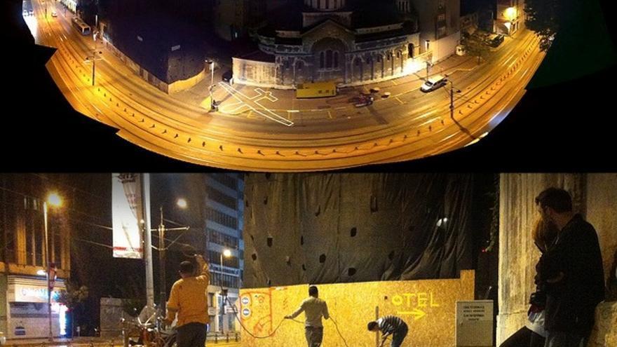 Proyecto 'Drone Shade', desarrollado durante la Bienal del Diseño 'Adhocracy'