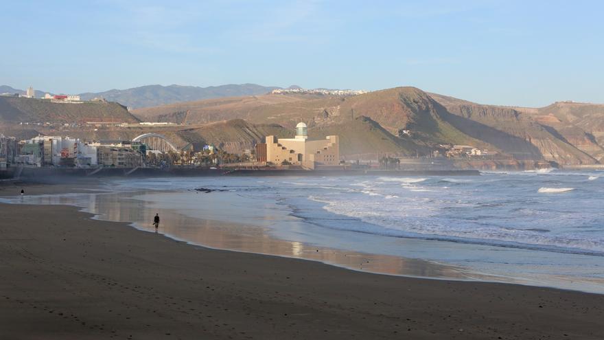 Playa de Las Canteras (ALEJANDRO RAMOS)